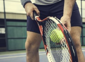 Find self-catering accommodation for racket events
