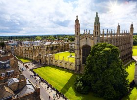 Find self-catering accommodation for Cambridge