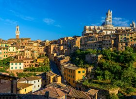 Find self-catering accommodation for Siena