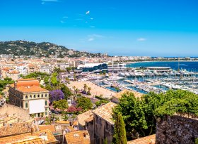 Find self-catering accommodation for Cannes