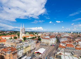 Find self-catering accommodation for Zagreb