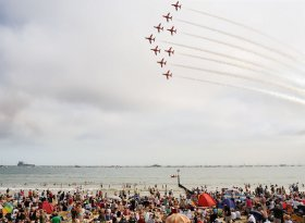 Find self-catering accommodation for Bournemouth Air Festival 2016