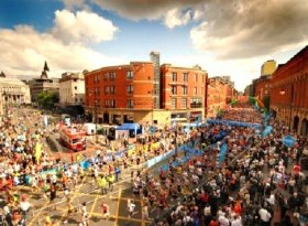 Find self-catering accommodation for The Bupa Great Manchester Run