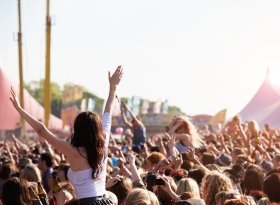 Find self-catering accommodation for Wychwood Music Festival