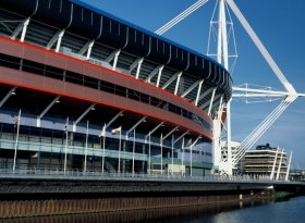 Find self-catering accommodation for RBS 6 Nations Wales v England