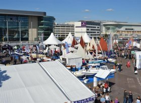 Find self-catering accommodation for Southampton Boat Show