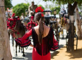 Find self-catering accommodation for The Seville Fair