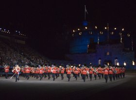 Find self-catering accommodation for The Royal Edinburgh Military Tattoo