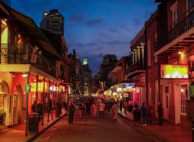 Find self-catering accommodation for Bourbon Street