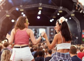 Find self-catering accommodation for Lovebox Festival