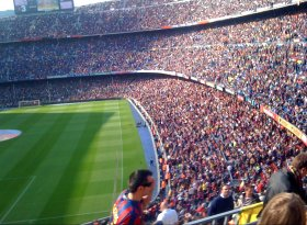 Find self-catering accommodation for Camp Nou