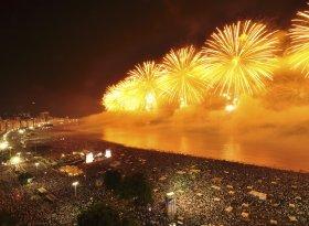 Rio Reveillon Fireworks Display