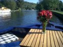 Enjoy sitting on the bow in henley-On-Thames