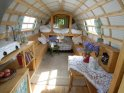 Find self-catering accommodation for Beautiful gypsy caravan close to Hay Literary Festival