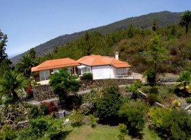 La Palma Bilder Landhaus Tijarafe Helikopter