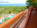 Gorgeous detached villa with private swimming pool and breathtaking sea views in Sardinia.
