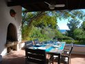 3 bedroom semi detached villa to rent in Sardinia by wonderful beach with sea views, sleeps 6