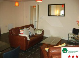 Luxury 3 start self catering apartment in Belfast