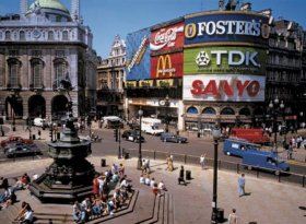 Nearby Piccadilly Circus