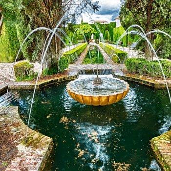 Andalucia 7 Night Garden Tour
