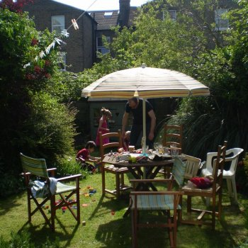 Find self-catering accommodation for Charming garden apartment in Walthamstow Village, London offering self catering accommodation.