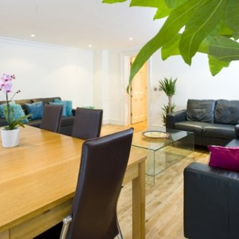 Find self-catering accommodation for Spacious 2 bed 2 bath + courtyard apartment offering self catering in Marble Arch Sleeps 4-6, London