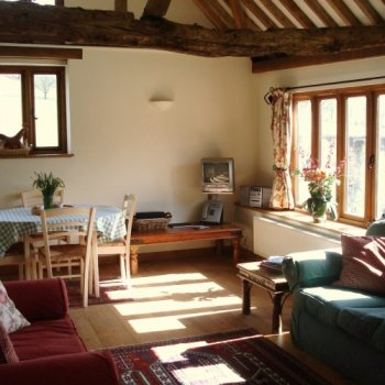 Find self-catering accommodation for Recently converted historic holiday barn with original features and character near Henley on Thames