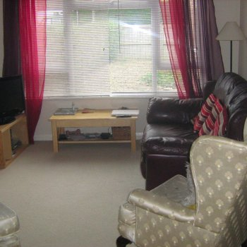 Find self-catering accommodation for Comfortable modern house on bus route to Cheltenham Racecourse or 20mins pleasant walk to town.