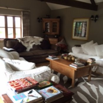 Find self-catering accommodation for Character Barn Conversion with large garden and countryside views close to Silverstone