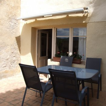 Find self-catering accommodation for La Vue sur les Collines, village house with stunning views