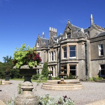 Find self-catering accommodation for Stunning 13 bedroom Scottish Victorian Country House on the Kintyre Peninsula, Argyll, sleeps 26