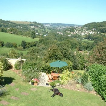 Find self-catering accommodation for A Wonderful and Charming Self Catering Cotswold Country Cottage Near Stroud; Exceptional Views.