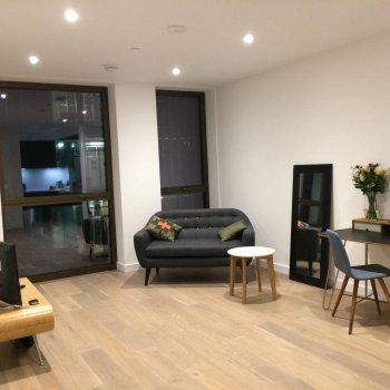 Find self-catering accommodation for Modern one-bedroom flat near The O2 Arena, London