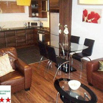 Find self-catering accommodation for Self Catering Apartment in Belfast City Centre, Ideal for the irish Dancing Championships